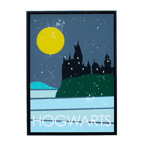 Hogwarts in Black Floater