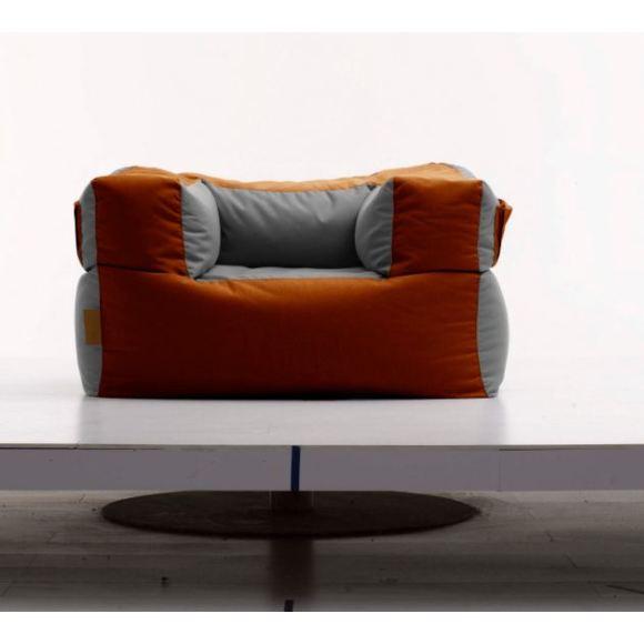 Kalahari Outdoor Arm Chair - Orange and Grey