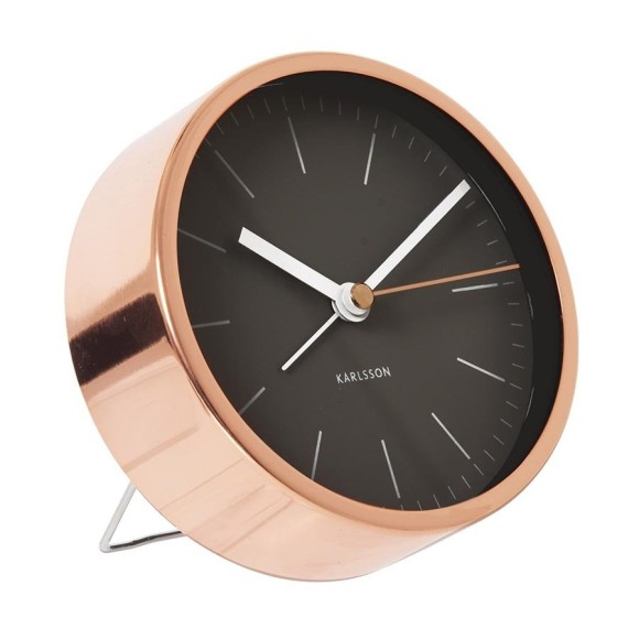 Copper alarm clock