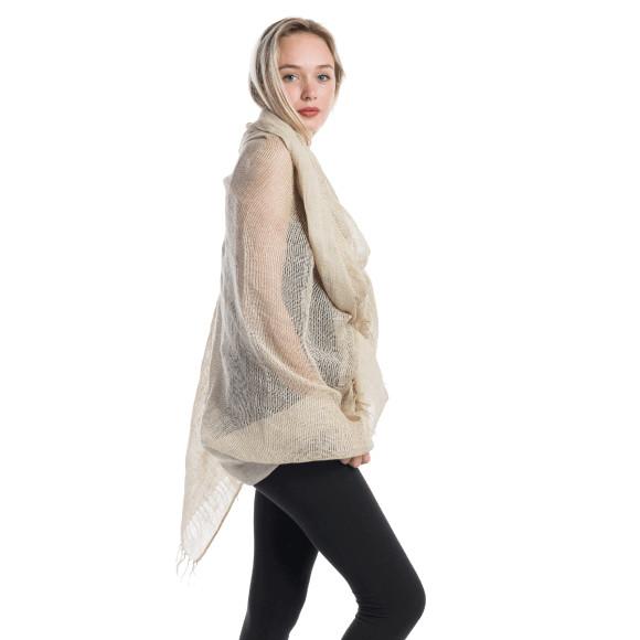 linen shawl bone