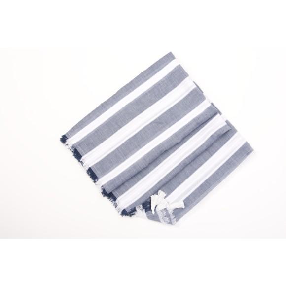 SUKA travel scarf blue
