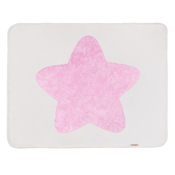 Pink baby Star Blanket