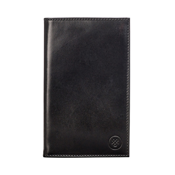 Sestino golf score card holder in black
