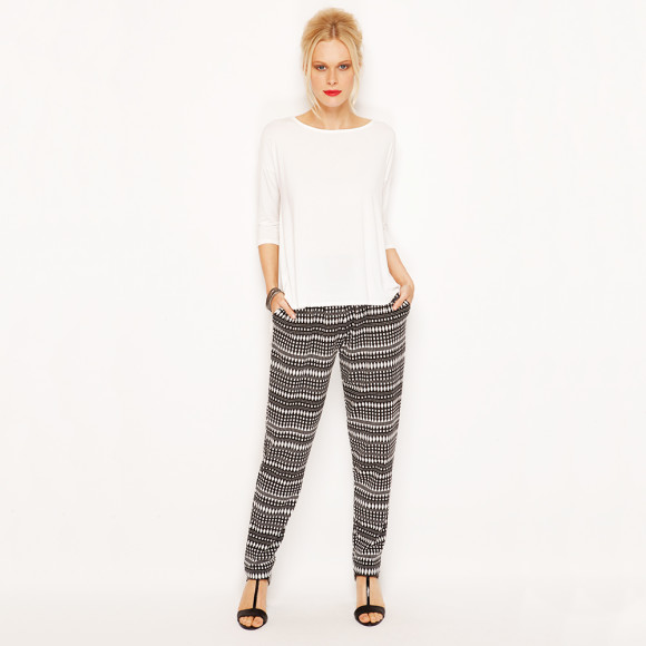 Nova Draped Back with Pleated Pant - Mexicana