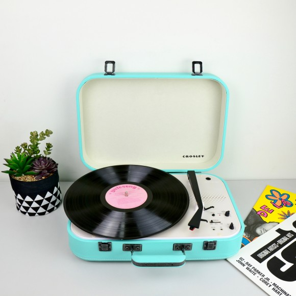 Crosley Coupe Turntables - Teal