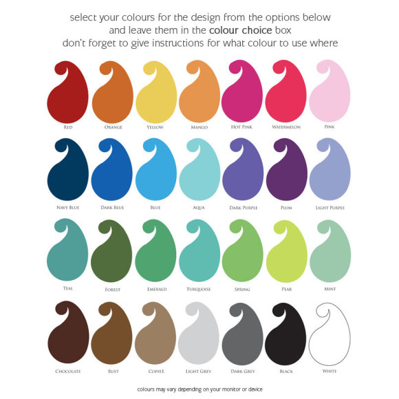design colour options