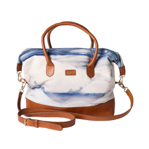 Skyline Leather Tote Bag