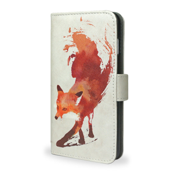 Vulpes Fox Smartphone Wallet Phone Case