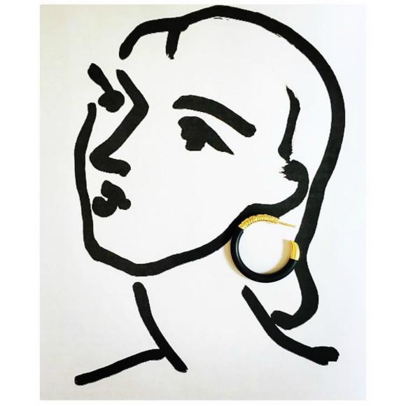 Hissia Marrakech hoop earrings