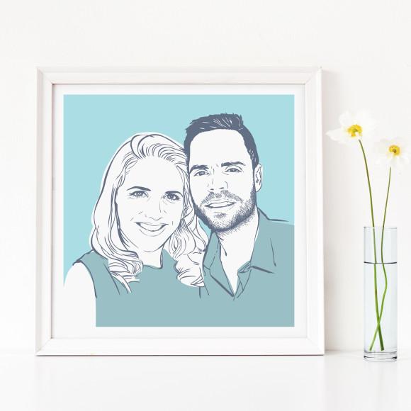 Family portrait - couple