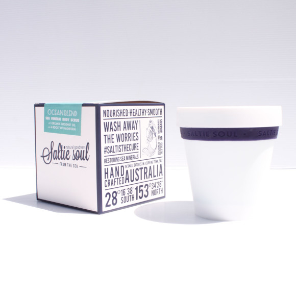 Ocean Blend Scrub Packaging