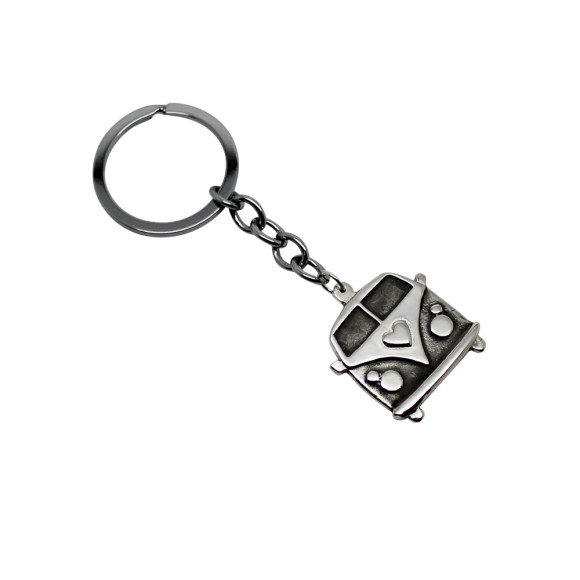 Kombi Van Key Chain