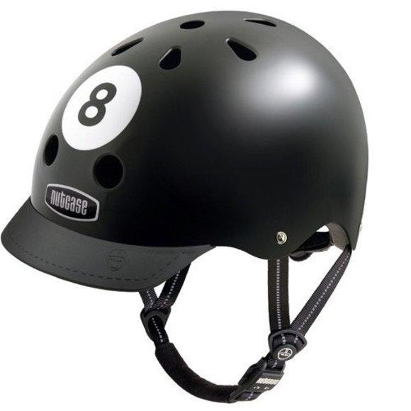 8 Ball helmet with visor