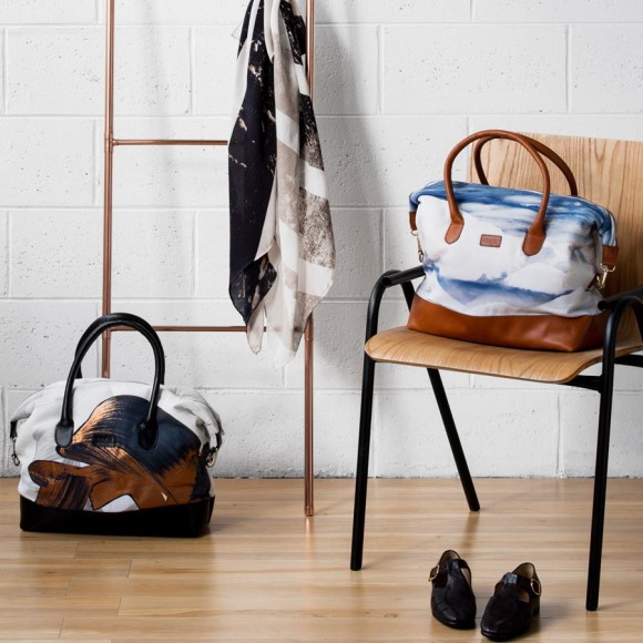 Squeak Leather Tote Bags