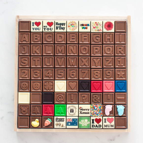 Choice of Chocolate Tiles