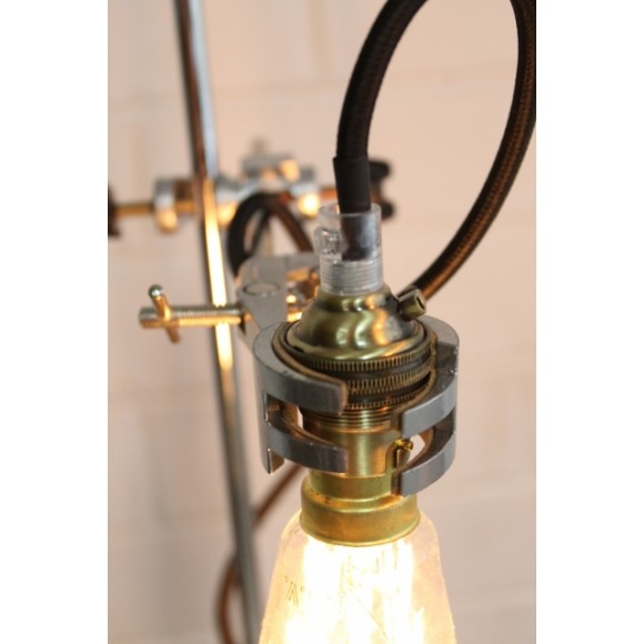 Lab lamp and bulb