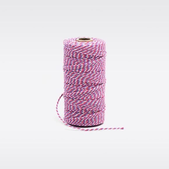 Lavender Pink White