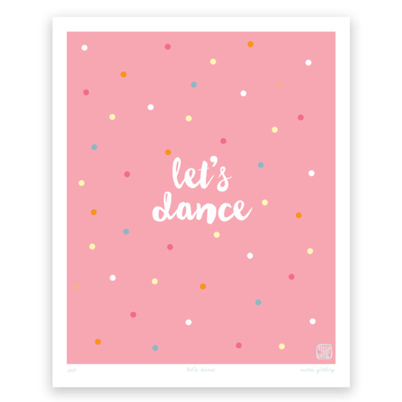 Let's Dance Art Print