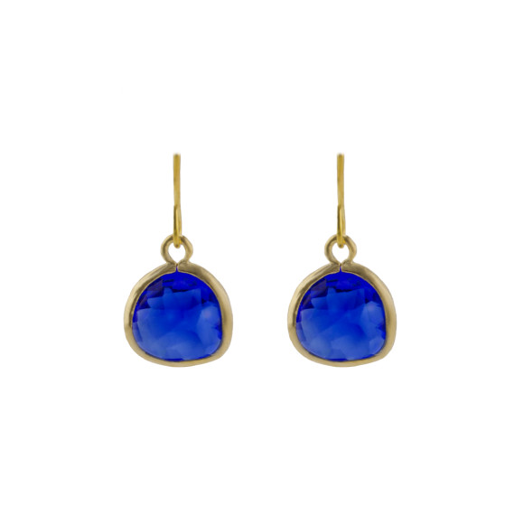Blue sea earrings
