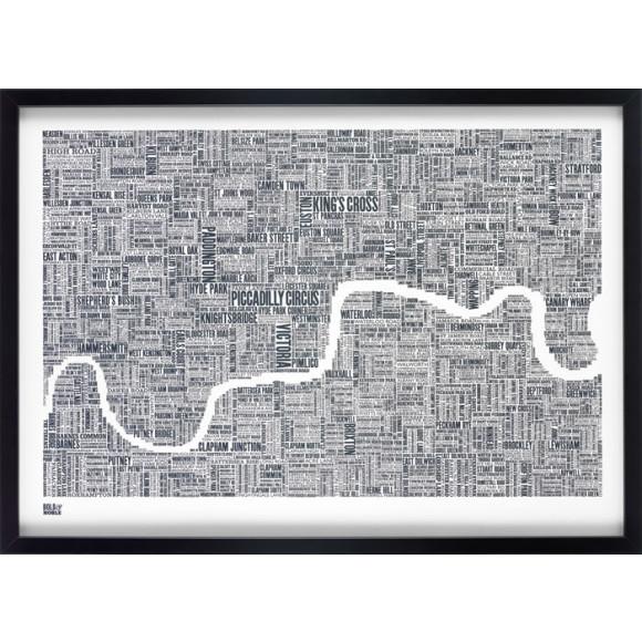 London Type Map