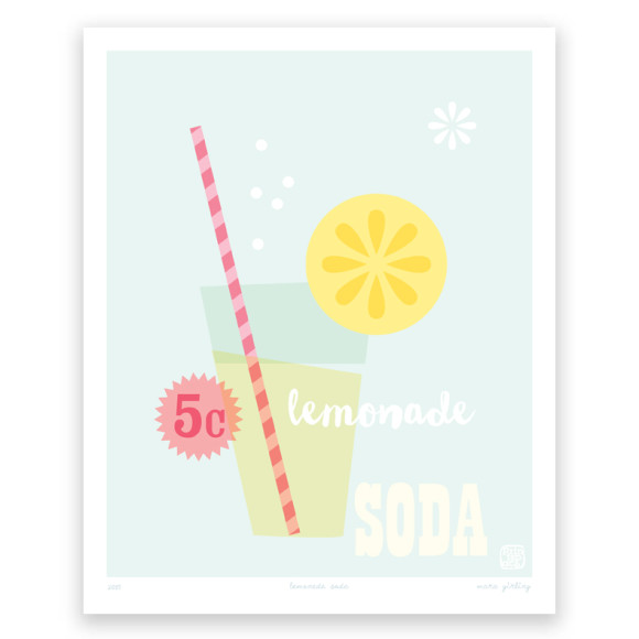 Lemonade Soda Art