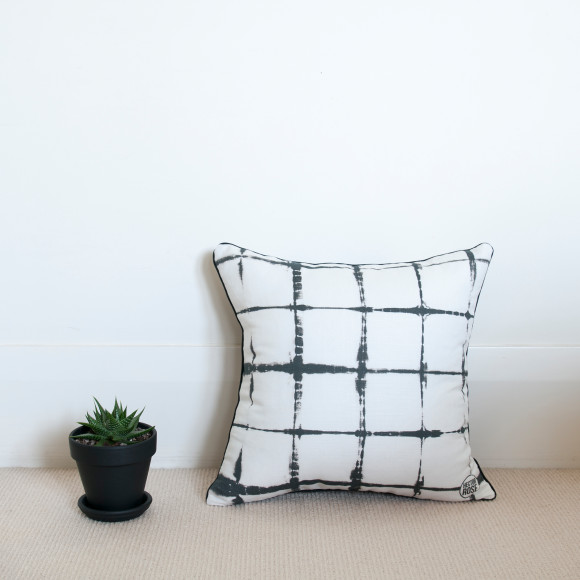 Hector Rose Shibori Cushion