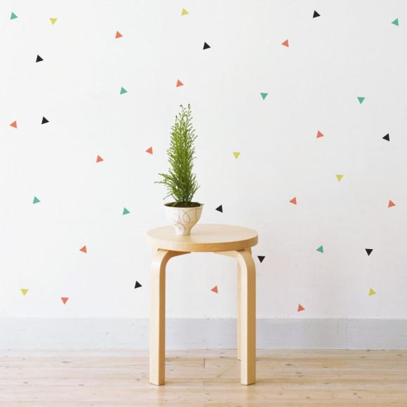 Confetti Triangles: Option 1