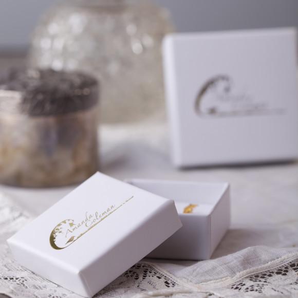 Amanda Coleman branded jewellery box