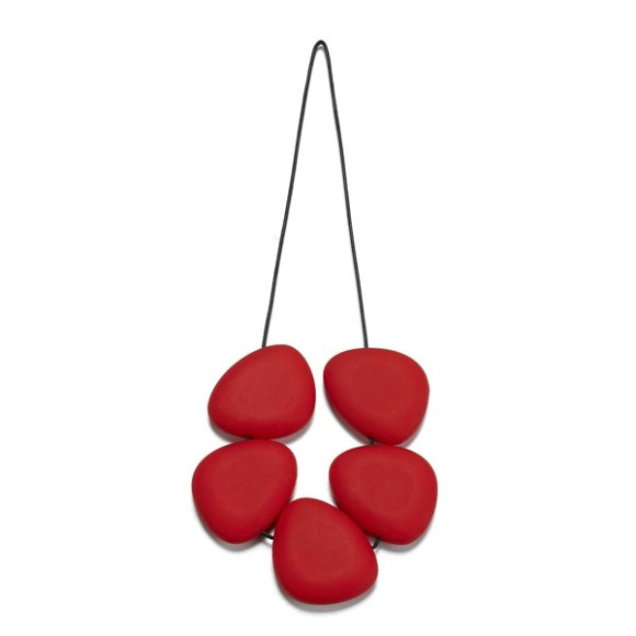 Red Silcone Trivet