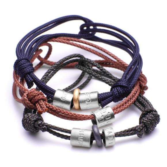 Silver bead bracel