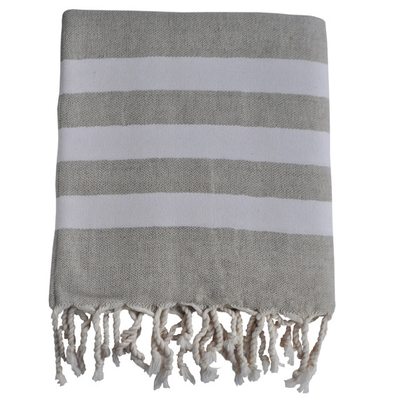 Linen chalk towel