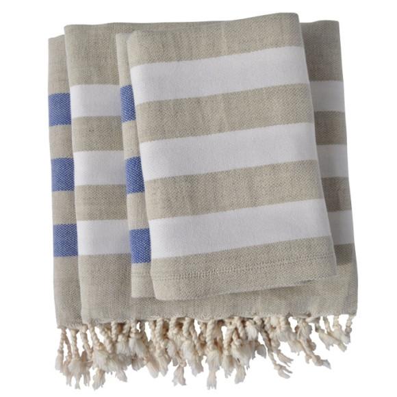 Beach Towel Bundle: Linen Towels & Hand Towels Bundle