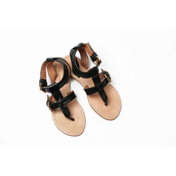 Lipari sandal Black