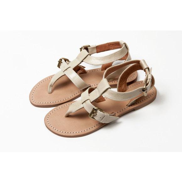 Lipari sandal Ivory
