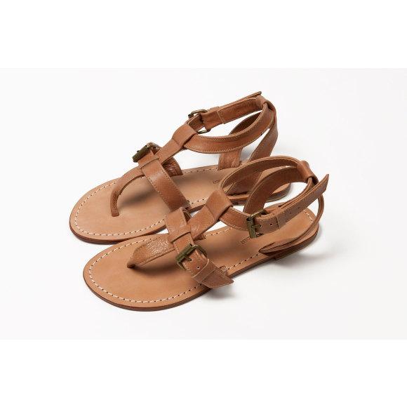 Lipari sandal Tan