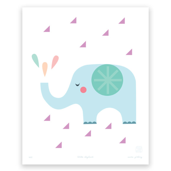 Little Elephant Art