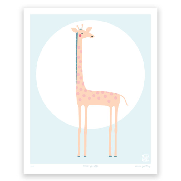 Little Giraffe Art