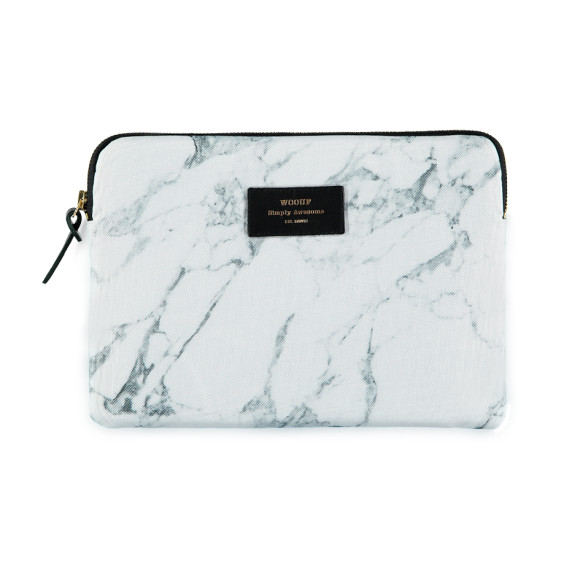 Woouf Sleeve IPad Air - Marble White