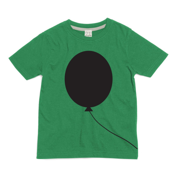 Green Balloon Chalkboard T-shirt