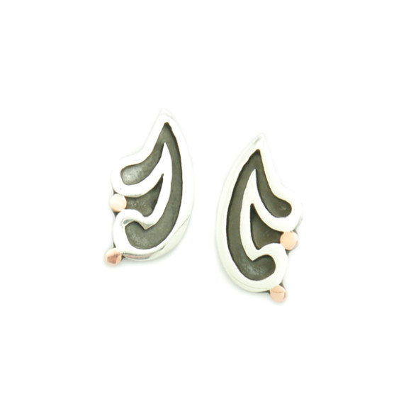 Matching earrings available from this store