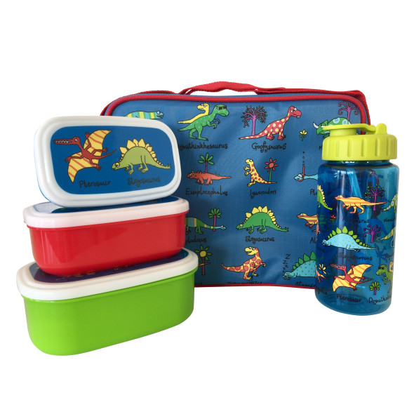 Dinosaur 3 Piece Lunch Set