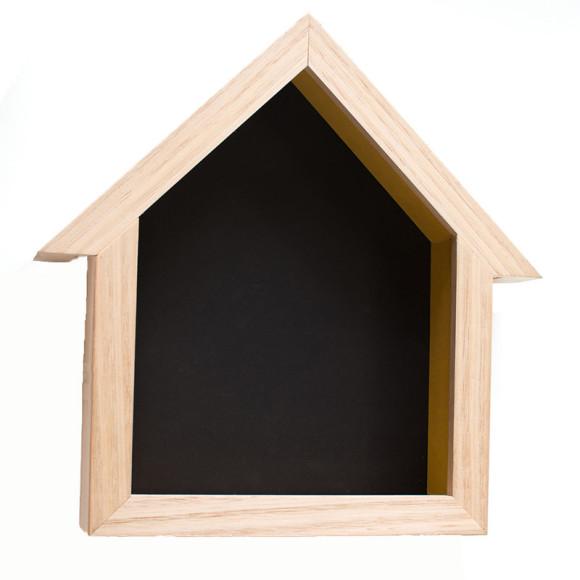 Birdhouse Blackboard Sunshine Yellow