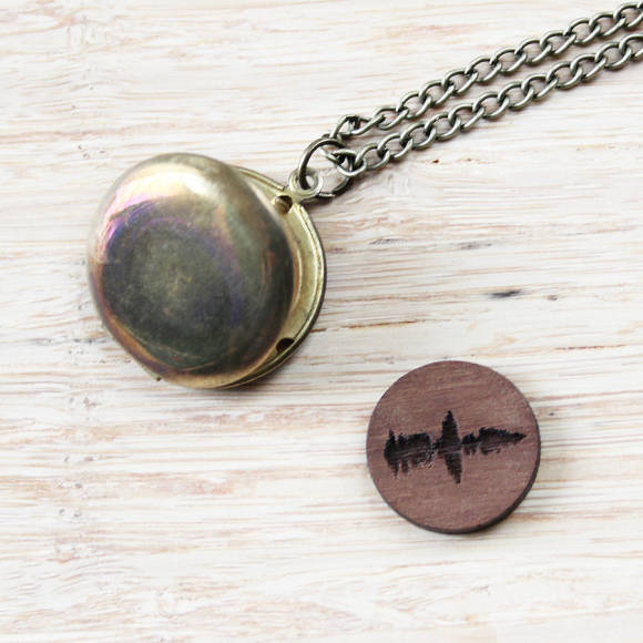 Sound Wave Locket