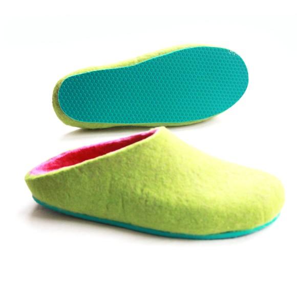 aqua green sole
