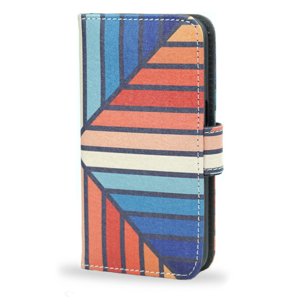 Celebration Striped Smartphone Wallet Case
