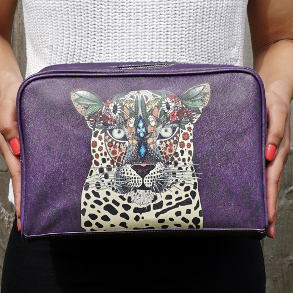 Leopard Queen Wash Bag