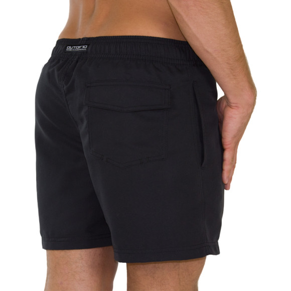 T10 Training Shorts Matt Black - Back view