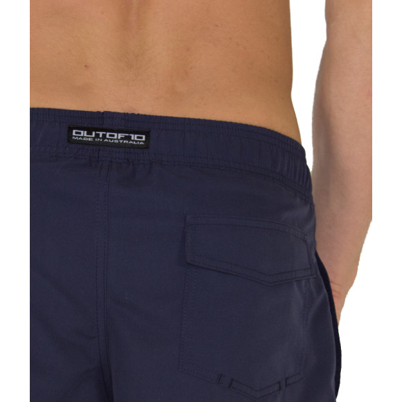 T10 Training Shorts Navy Blue - Back view