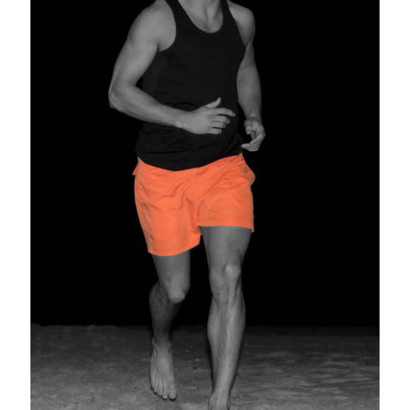 T10 Training Shorts - Saidi Orange