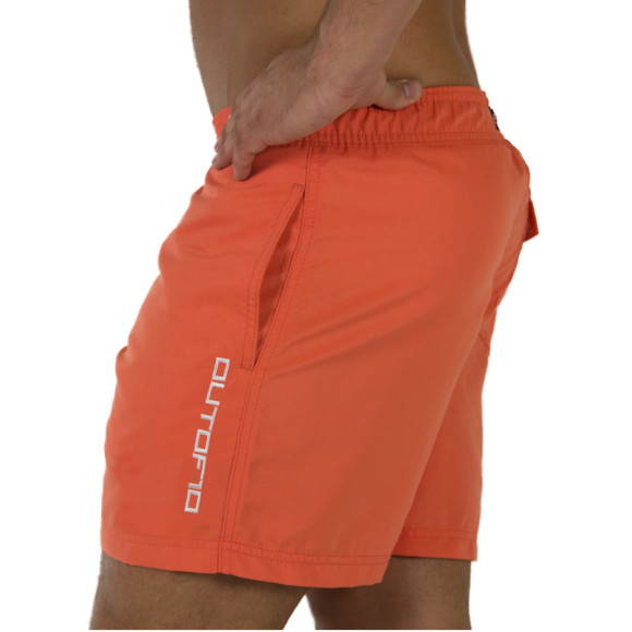 T10 Training Shorts Saidi Orange - Side view